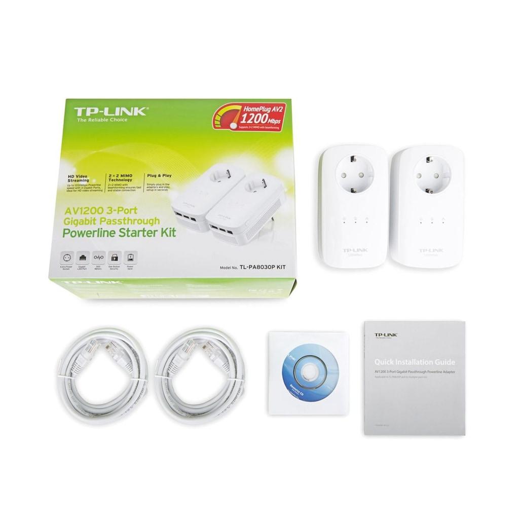 TP-Link Netzwerk-Adapter »TL-PA8030P KIT AV1200 Powerline 2er KIT«