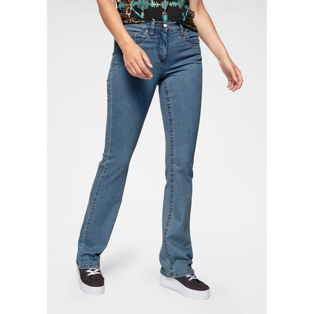 Aniston CASUAL Bootcut-Jeans »Simone«, Regular Waist