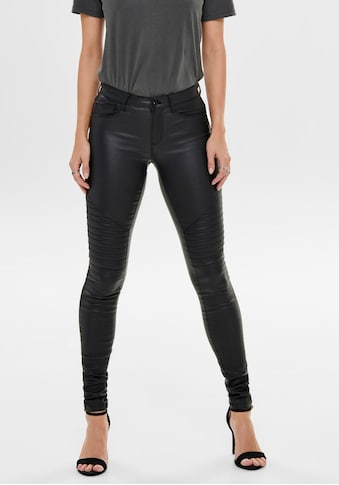 Only Lederimitathose »ONLNEW ROYAL«, im trendy Biker-Look kaufen