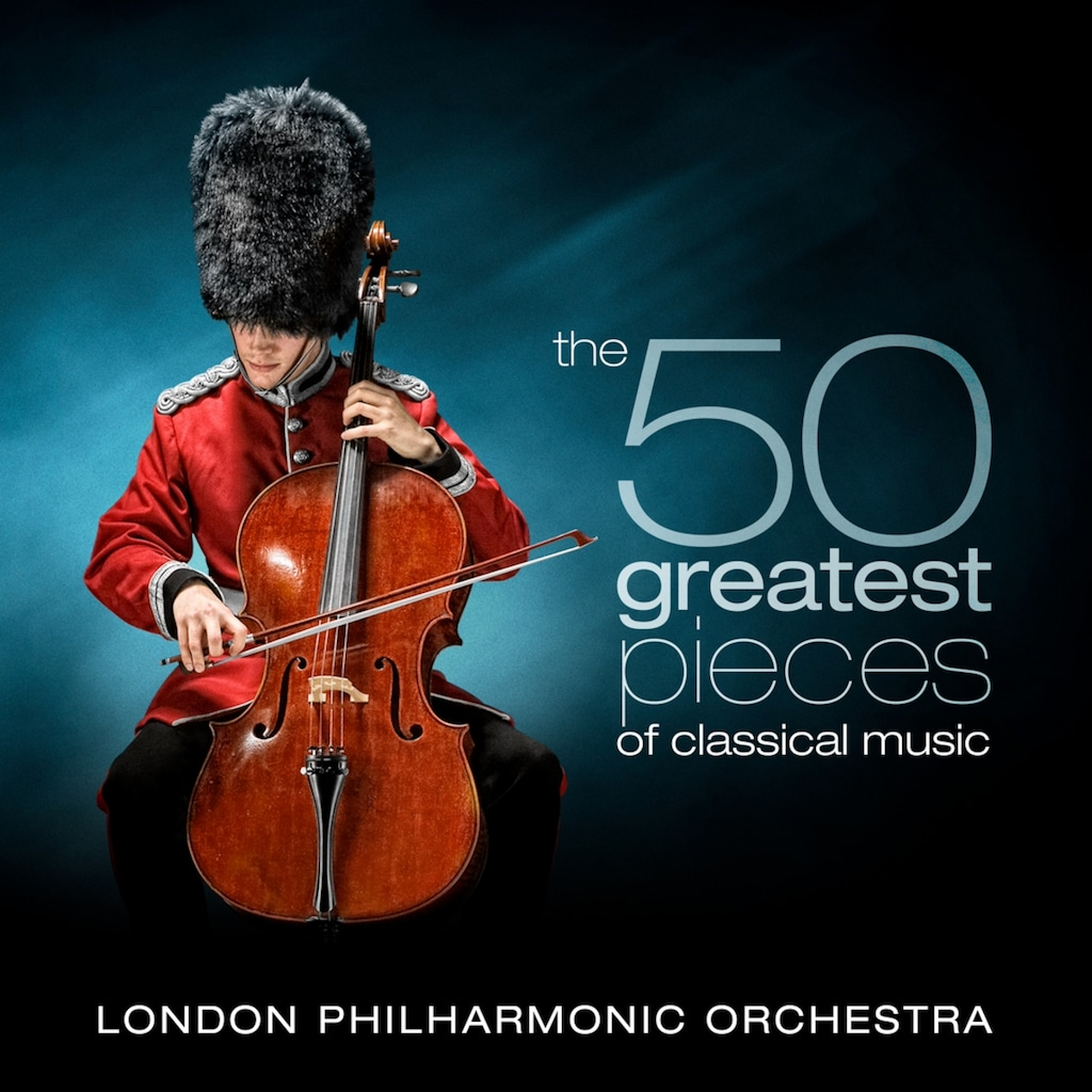 Musik-CD »The 50 Greatest Pieces of Classical Music / Parry,David/LPO«