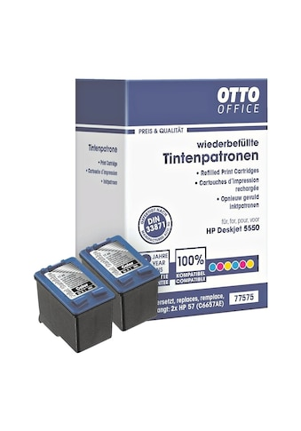 Otto Office Doppelpack Tintenpatronen ersetzt HP Nr. 57 kaufen