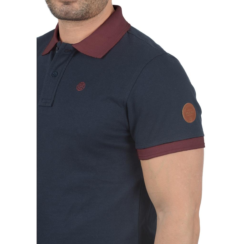 Blend Poloshirt »Ralf«, Polo mit farblich abgesetztem Kragen