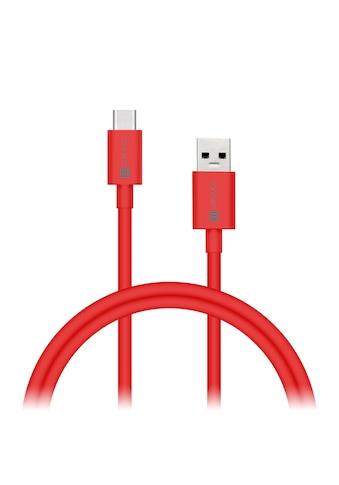 Connect IT USB-Kabel »IT Colour Line Typ C USB 3.0 Kabel 1m Rot«, 100 cm kaufen
