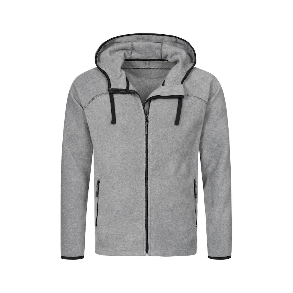 Stedman Fleecejacke »Hooded Fleece Jacket«, mit Kapuze