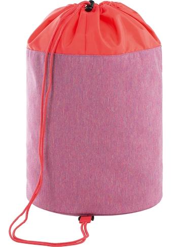 Lässig Sporttasche »About Friends Mélange Pink«, PETA-approved vegan; aus recyceltem... kaufen