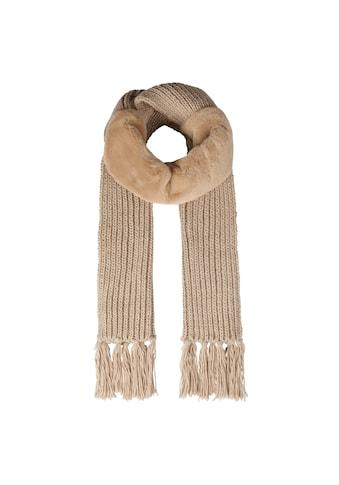 Codello XXL-Schal, mit Fake Fur-Einsatz kaufen