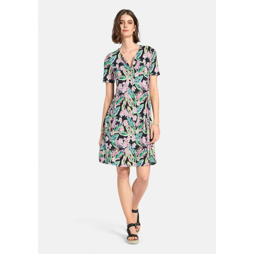 Looxent Jerseykleid »Jerseykleid mit 1/2-Arm«, mit Reißverschluss-Ausschnitt