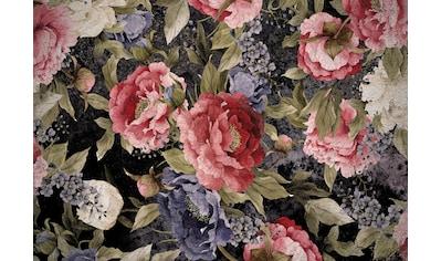 Consalnet Vliestapete »Muster mit roten Blumen«, floral kaufen