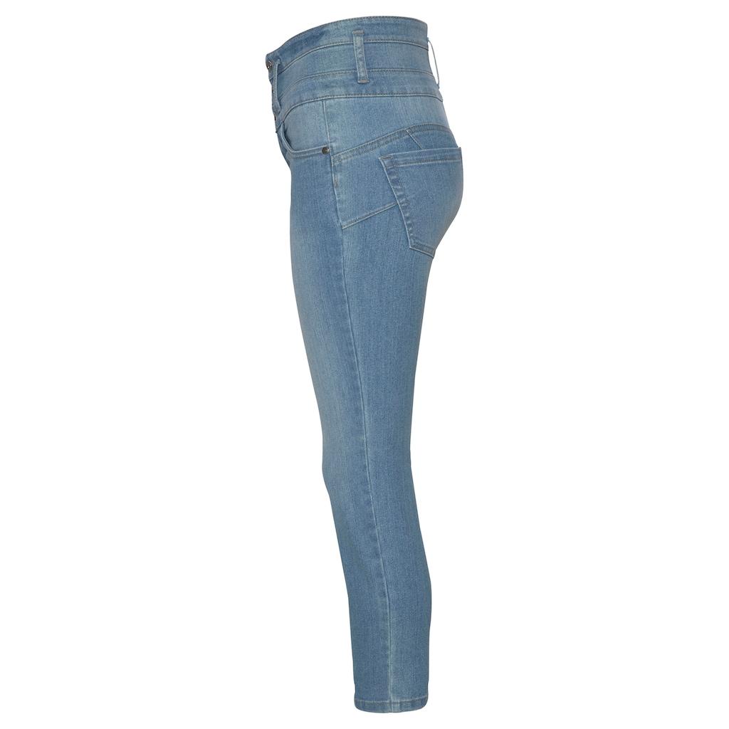 Arizona 7/8-Jeans »mit extra breitem Bund«, High Waist