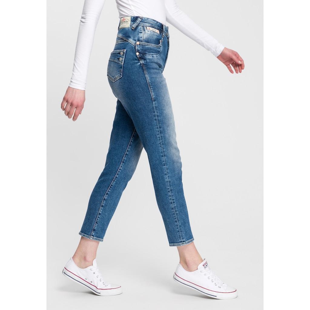 Herrlicher High-waist-Jeans »PIPER HIGH CONIC«, neuer konisch verlaufender Fit