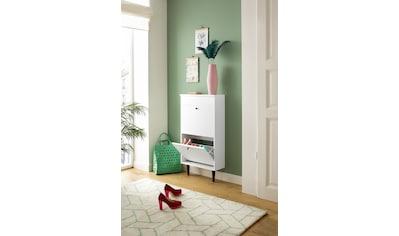 my home Schuhschrank »Dotti«, mit einer praktischen Schmuckaufbewahrung, pro Klappe... kaufen