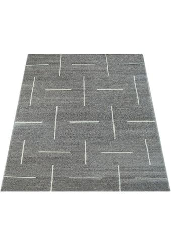 Paco Home Teppich »Tibesti5085«, rechteckig, 16 mm Höhe, Kurzflor, Wohnzimmer kaufen