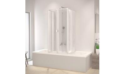 Schulte Badewannenaufsatz, nach Gebrauch flach an die Wand klappbar, Montage ohne Bohren kaufen