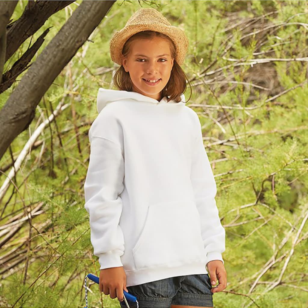 Fruit of the Loom Kapuzenpullover »Kinder Unisex Kapuzen Pullover Premium 70/30«