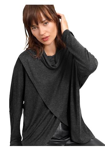Creation L Strickshirt mit langen Fledermausärmeln kaufen
