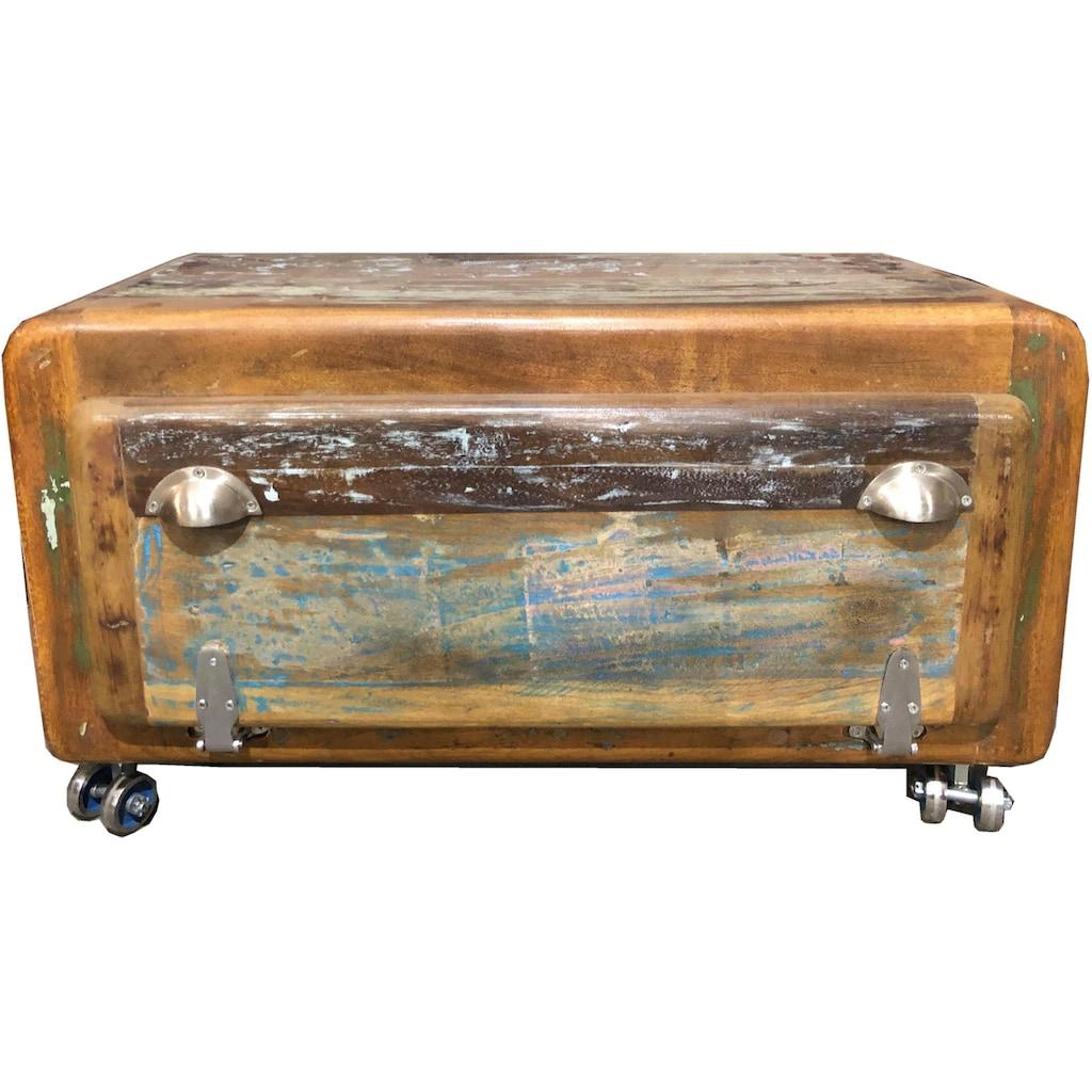 SIT Schuhschrank »Fridge«, aus recyceltem Altholz, Shabby Chic, Vintage