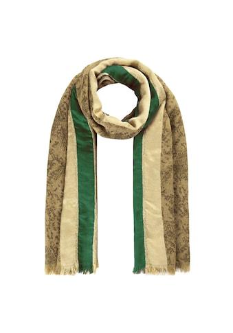 Codello Wollschal, mit Glanzstreifen aus Baumwolle, Wolle und Modal kaufen