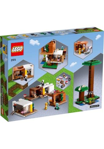 LEGO® Konstruktionsspielsteine »Das moderne Baumhaus (21174), LEGO® Minecraft™«, (909... kaufen
