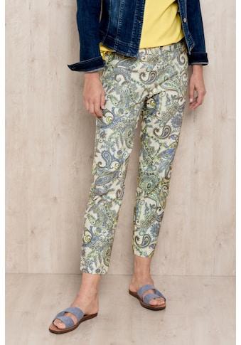 bianca Stretch-Hose »SIENA«, mit trendigem Paisley Print kaufen