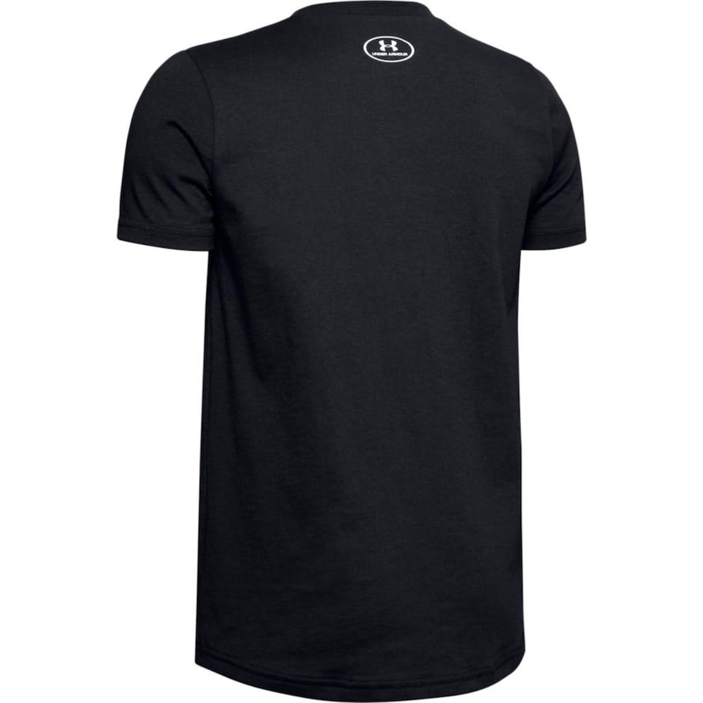 Under Armour® T-Shirt »LOGO SHORTSLEEVE«, Für Kinder
