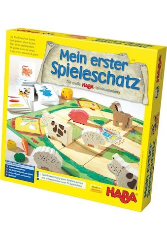 Haba Spielesammlung »Mein erster Spieleschatz - Die große HABA-Spielesammlung«, Made in Germany kaufen
