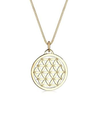 Elli Collierkettchen »Lebensblume 925 Sterling Silber« kaufen