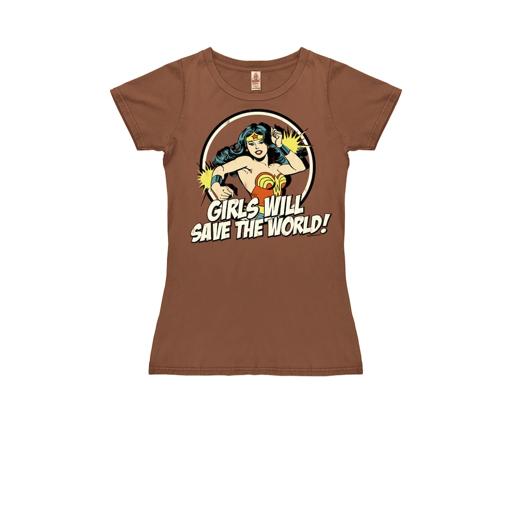 LOGOSHIRT T-Shirt mit Wonder Woman-Print