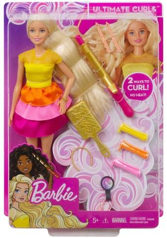 Mattel® Anziehpuppe »Barbie Locken-Style Puppe, blond« kaufen