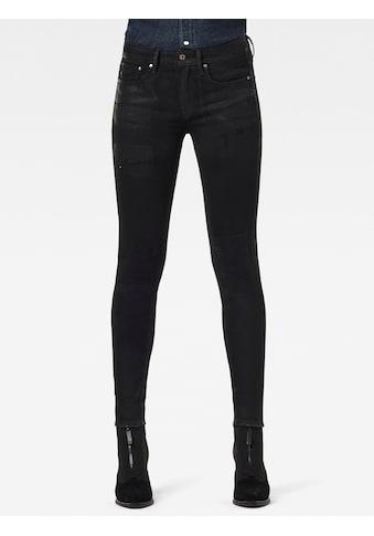 G-Star RAW Skinny-fit-Jeans »3301 Mid Skinny Jeans«, klassischen 5-Pocket-Design im authentischen Westernlook kaufen