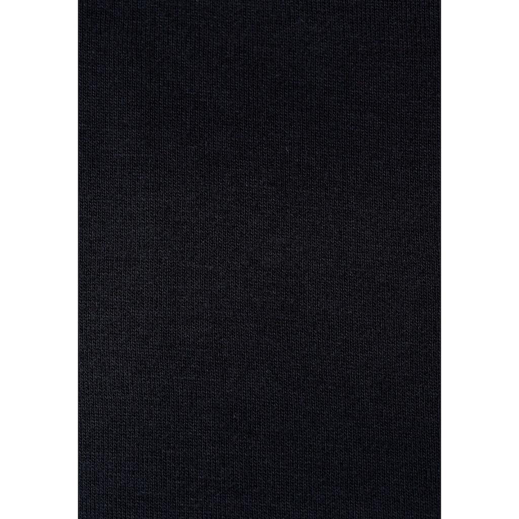 Bench. Sweatshirt, mit Stehkragen und Reißverschluss-Detail