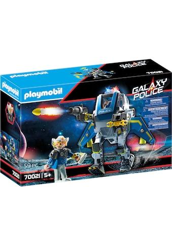 Playmobil® Konstruktions-Spielset »Galaxy Police-Roboter (70021), Galaxy Police«, (59... kaufen