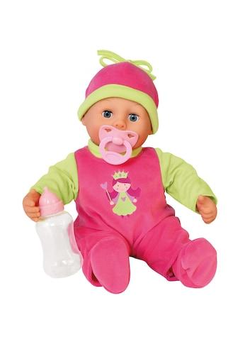 Bayer Babypuppe »First Words«, (3 tlg.), Prinzessinnen-Design kaufen