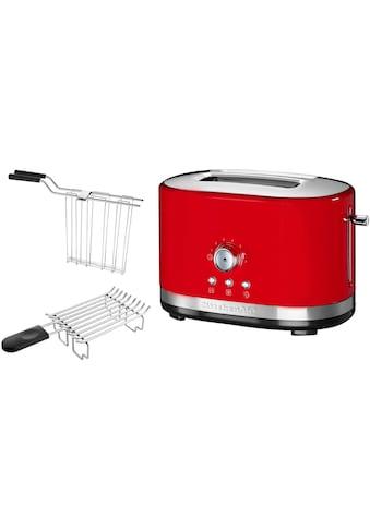 KitchenAid Toaster »5KMT2116EER«, 2 kurze Schlitze, für 2 Scheiben, 1200 W, empire rot kaufen