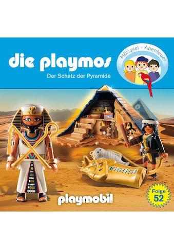 Musik-CD »(52)Der Schatz Der Pyramide / Playmos,Die« kaufen