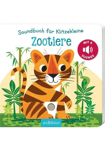 Buch »Soundbuch für Klitzekleine - Zootiere / Natalie Marshall« kaufen
