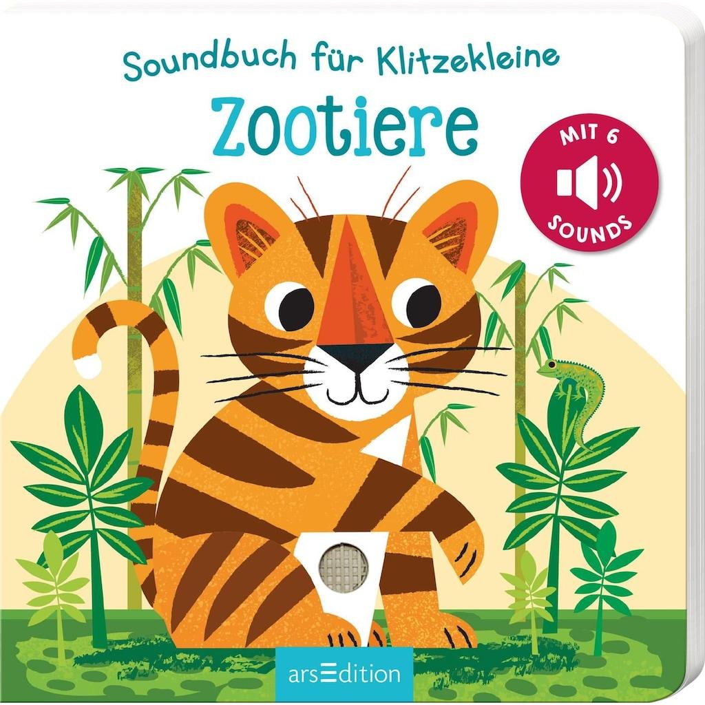 Buch »Soundbuch für Klitzekleine - Zootiere / Natalie Marshall«