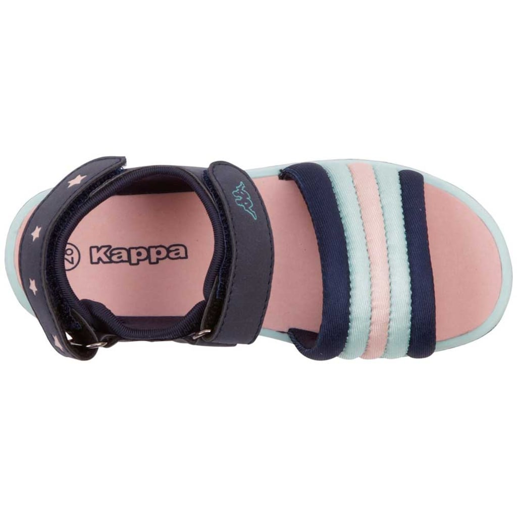 Kappa Sandale »KYA KIDS«, mit zwei weitenregulierbaren Klettverschl&uuml;ssen<br />