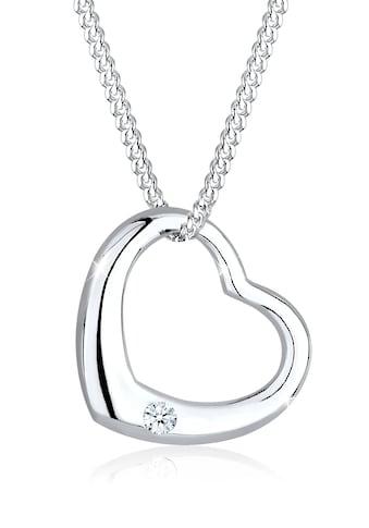 Diamore Collierkettchen »Herz Liebe Romantik Diamant (0.03 ct.) 925 Silber« kaufen