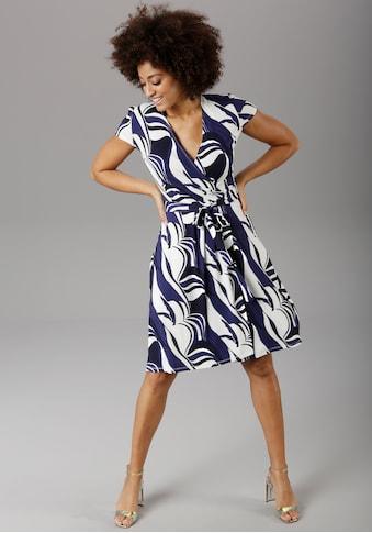 Aniston SELECTED Sommerkleid, im grafischen Druck - NEUE KOLLEKTION kaufen