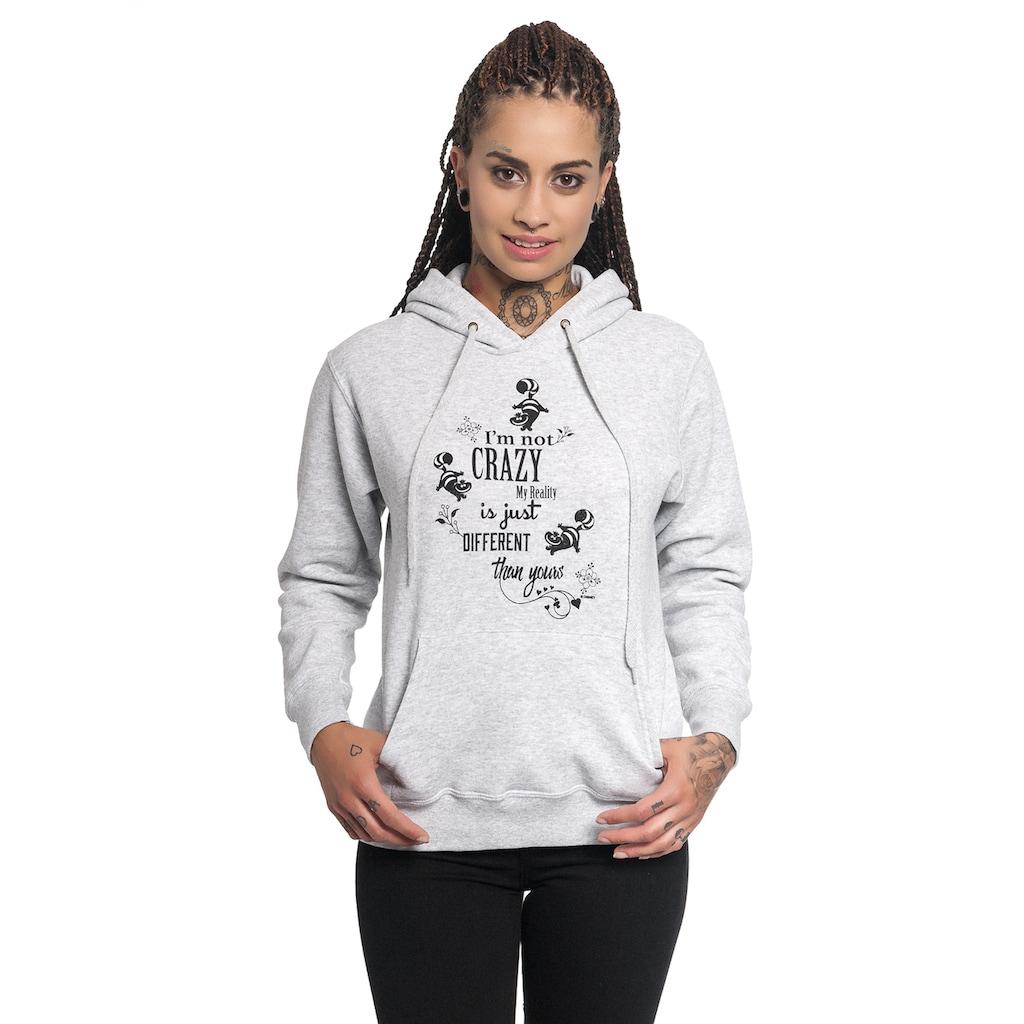 Disney Kapuzensweatshirt »Alice im Wunderland I'm Not Crazy«