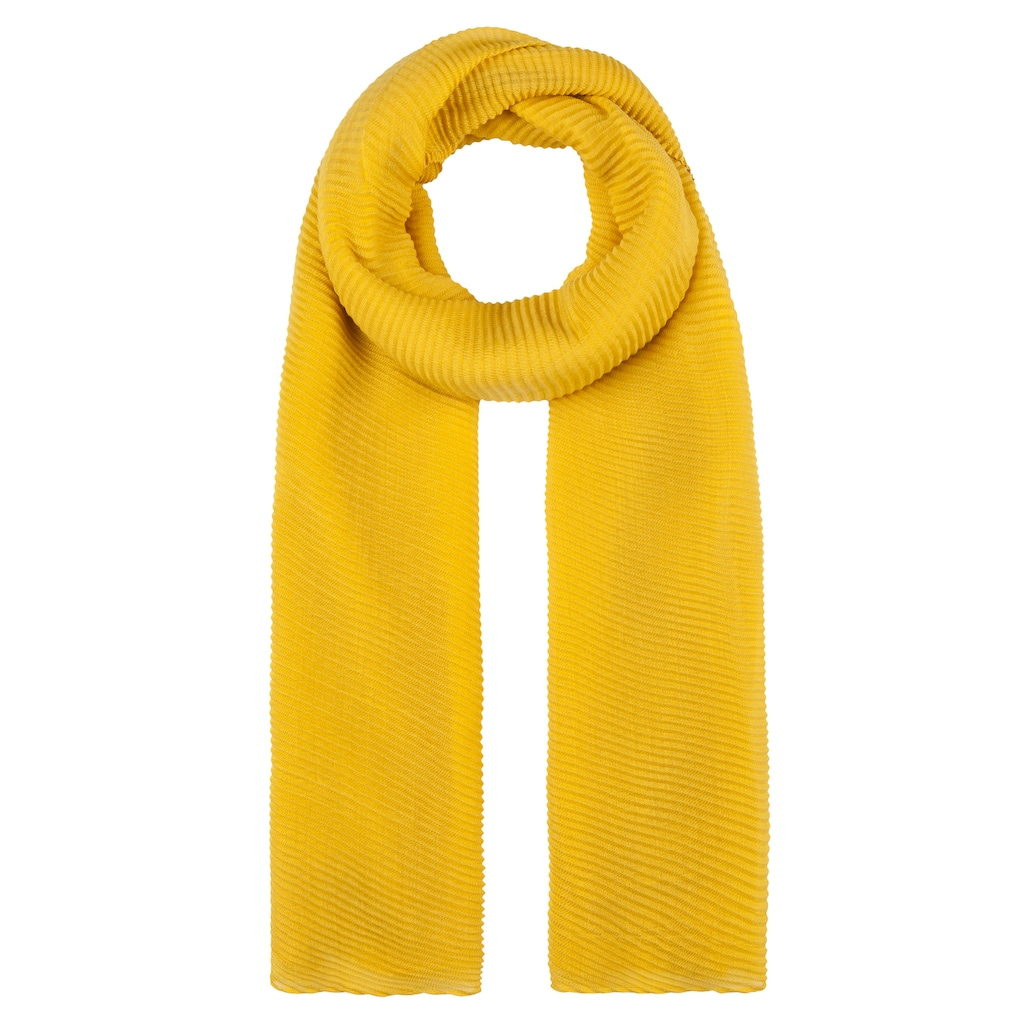 Codello Softer Plissee-Schal aus recyceltem Polyester