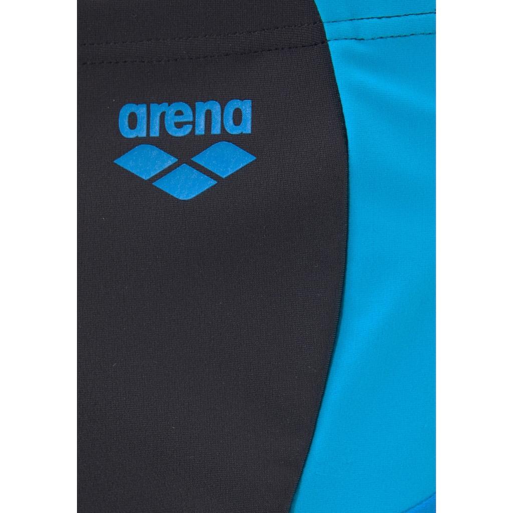Arena Boxer-Badehose, mit modischen Kontrasteinsätzen