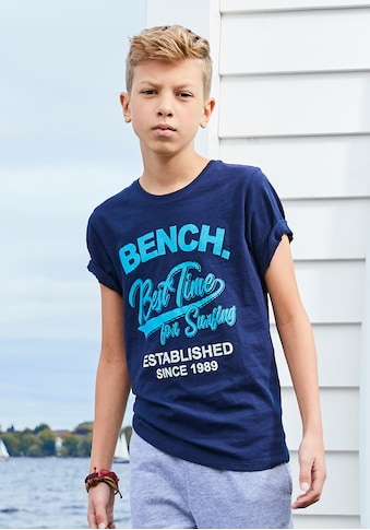 Bench. T-Shirt »Best time for surfing« kaufen
