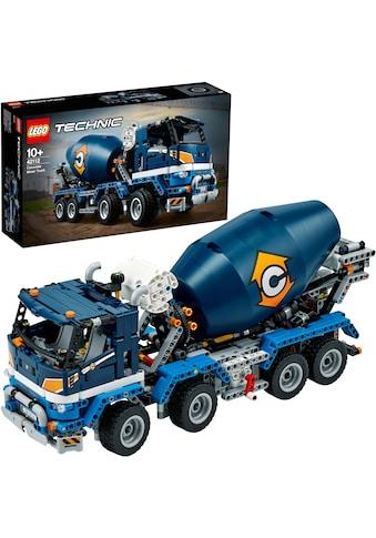 "LEGO® Konstruktionsspielsteine ""Betonmischer - LKW (42112), LEGO® Technic"", Kunststoff, (1163 - tlg.) kaufen"