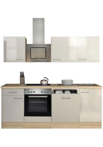 Flex-Well Küchenzeile, mit E-Geräten, Breite 220 cm kaufen