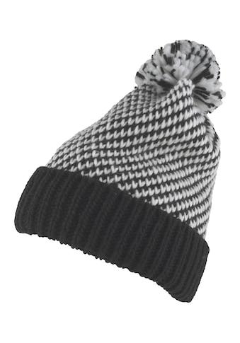 Mütze mit modischem Bommel kaufen