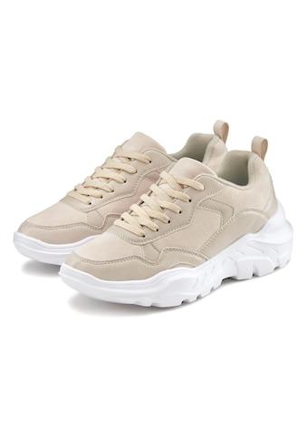 LASCANA Sneaker, mit ultraleichter Chunky Sohle und weicher Innensohle kaufen