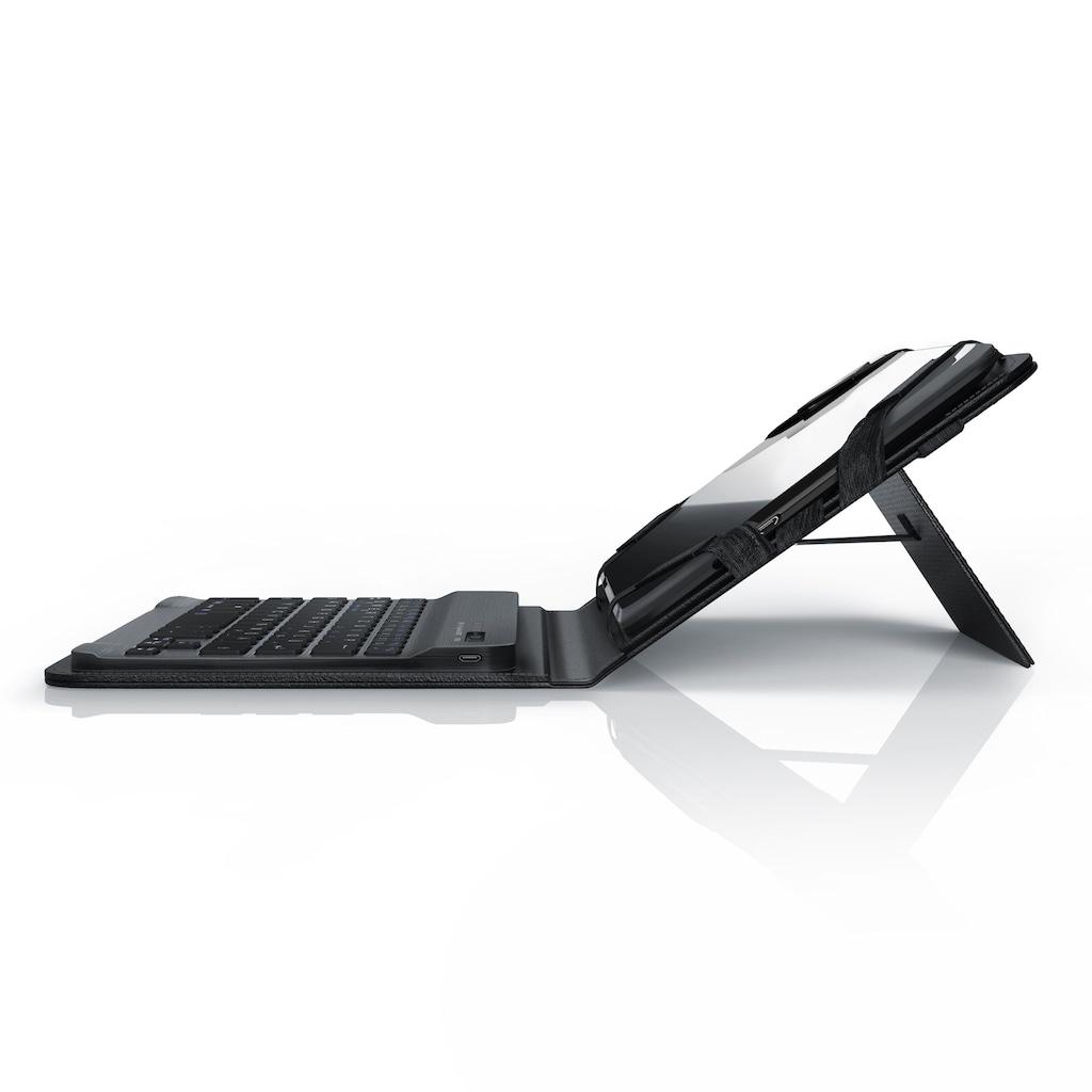 "Aplic Bluetooth-Tastatur inkl. Kunstledercase für 7-8"" Tablets"
