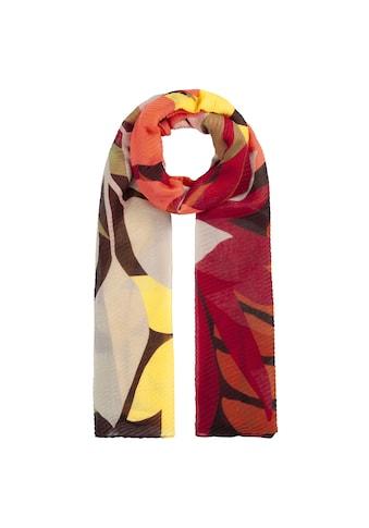 Codello Plisseeschal, aus recyceltem Polyester mit Flower Print kaufen