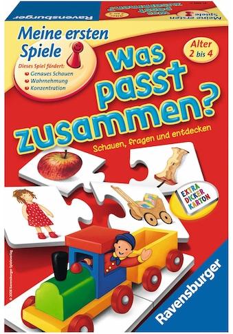 """Ravensburger Spiel, """"Was passt zusammen?"""" kaufen"""